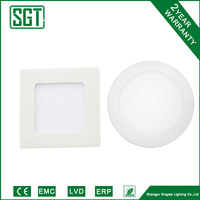 new design SMD2835 6w IC driver led panel light price