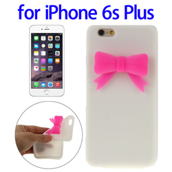 New design Stereoscopic pattern silicone mobile accessory for iPhone 6s Plus