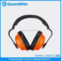 GuardRite Brand Soft and Comfortable Foam Headband Orange Ear muff for Children