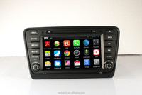 "FineNav 8"" In Dash Android 4.2.2 Car Auto DVD Player With GPS for Skoda Octaiva 2014 with 3G/Wifi/Bluetooth/GPS Navigation"