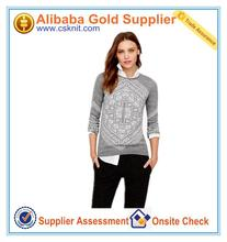 EUROPE styple aran sweater/ladies cable knit sweater vest