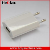 Wholesale Smart Phone Travel Charger 1000mA US EU Plug For Apple iphone Wall Charger Adapter