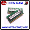 667, 800mhz notebook DDR2 sodimm laptop memory ram modules