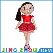 stuffed beautiful girl toys,cute cartoon girl dolls toy,lovely plush girl doll toy