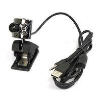 20.0 M Pixel USB 6 LED Webcam Mic PC Laptop Camera