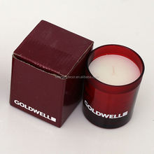 Shenzhen Lihome luxury branded scented candle in glass jar sold to Germany