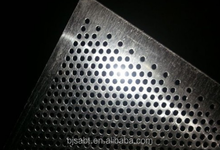 steel perforated sheet/the perforated plate/perforated metal sheet steel strips