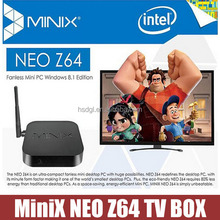 MINIX NEO Z64 Z64W Window 8.1(Bing) Quad-Core smart MINI PC TV BOX Media player 2GB RAM 32GB ROM Bluetooth 4.0 Wifi XBMC 1080P