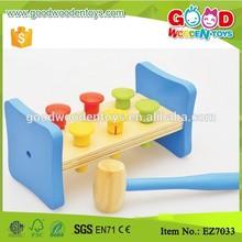 Goodkids niños juego educativo de madera martilleo juguete