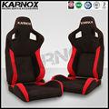 tela estilo jdm reclinable y ajustable de inclinación de la deriva de deportes de carreras asientodecoche
