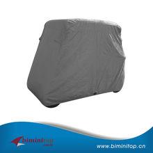 Anti-UV 300D breathable fabric golf car cover