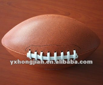 PVC leather American football Rugby ball