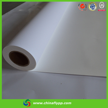 roll up use high density pp synthetic paper no curve