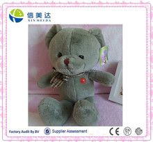 green teddy bear stuffed plush animal toy for promotional gifts color customized
