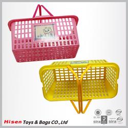 Environmentally friendly plastic vegetable basket/fruit storage basket