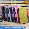 Luxury Bling Rhinestone Flap wallet flip Leather Case Cover For iphone 5s with Stand