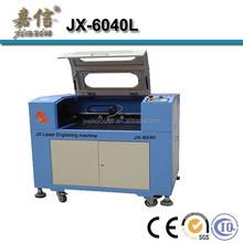 JX-6040L Cutting plastic co2 laser machinery