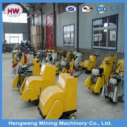 WQF series honda engine road cutter/concrete cutting machine