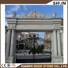 natural material limestone door arch for interior and exterior decoration