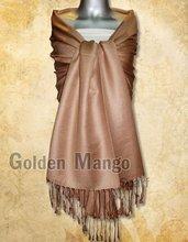 2011 latest viscose/acrylic solid color viscose scarf