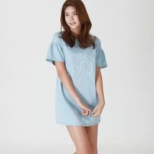 blue 100%cotton xxxl sex women t shirt