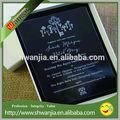 cartão de convite de máquinas de impressão de convite de casamento cartão e cartão de convite de design