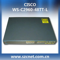 New cisco multilayer switch WS-C2960-48TT-L switch 48 10/100 + 2 1000BT LAN Base Image