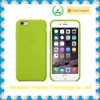 Cheap Plastic Microfiber inside silicone case for iphone 6