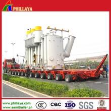 Multi Axle Modular Heavy Duty Boat Transport Trailer With Hydraulic System