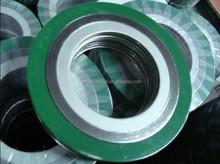 TENSION PTFE spiral wound gasket for flange pipe , valve