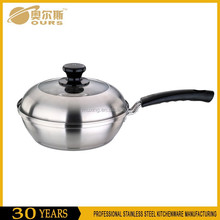 Stainless steel frying pan on hot sale