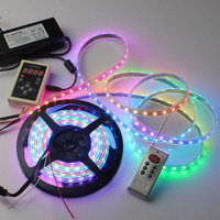 5050 SMD RGB WS2812 Led Strip, Adressable 60 Pixel 144 Led Strip WS2812 With CE ROHS