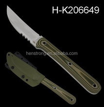 Best Quality 7Cr17 Stainless Steel Military Survival Kits Fix Blade Survival Knife