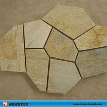 Culture stone, mesh slate tile