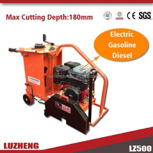 Gasoline concrete cutter