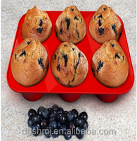 Silicone Multi-purpose for Making Muffins, Cupcakes, Soap Molds, Ice Cube Trays