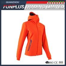 Waterproof OEM fashion woven sport jacket for ladies