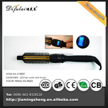 2015 hair curling machine crystal Hair brush hair roller