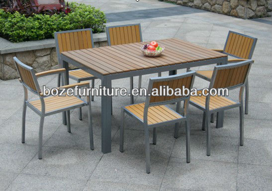 Teak Furniture Wood Table And Chair Aluminum Furniture Outdoor Top Quality Garden Furniture