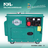 NDL Diesel Generator 5KW Silent Type Three Phase/3-phase NDL7500T-3