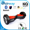 Chirstmas gift for kids adults with CE, FCC, RoHS approved 6.5 8 10 inch 2 wheel electric self balancing scooter