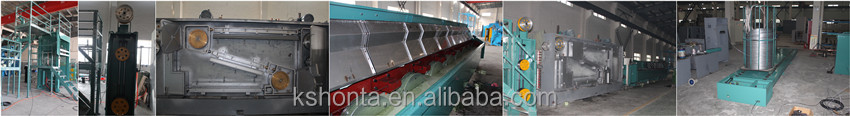 copper wire cable making equipment( enamelling machine)
