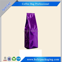 Misture proof side gusset coffee bag