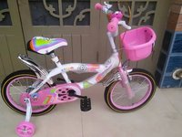 "China Factory Supply Cheap Children Bicycle 12"" 14"" 16"" Pink Blue Green Purple For Girls and Kids"