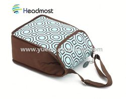 over shoulder cooler bags 2014 fashionable duffle tote cooler bag with black and white flowers