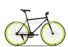 700C FIXIE BIKE / coloridas artes fijos camino bici de buena calidad