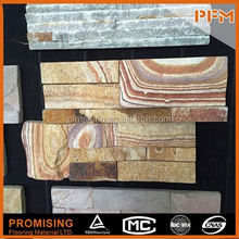 Wholesale AAA quality Natural 5 strips natural stone tile