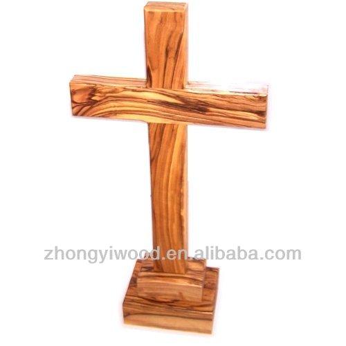 Fsc cheap standing wooden crosses wholesale buy standing for Cheap wooden crosses for crafts