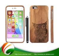Excellent Quality With Custom Logo Wood Bumper Case For Iphone 5
