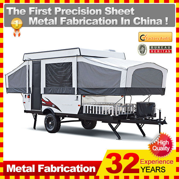 personnalis en acier inoxydable mini caravane caretta hors route. Black Bedroom Furniture Sets. Home Design Ideas